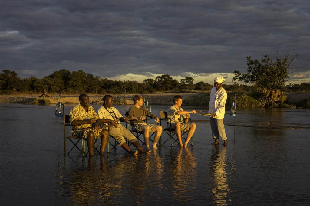 Sundowners in Zambia
