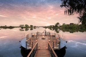 Thorntree Lodge on Zambezi River, Zambia