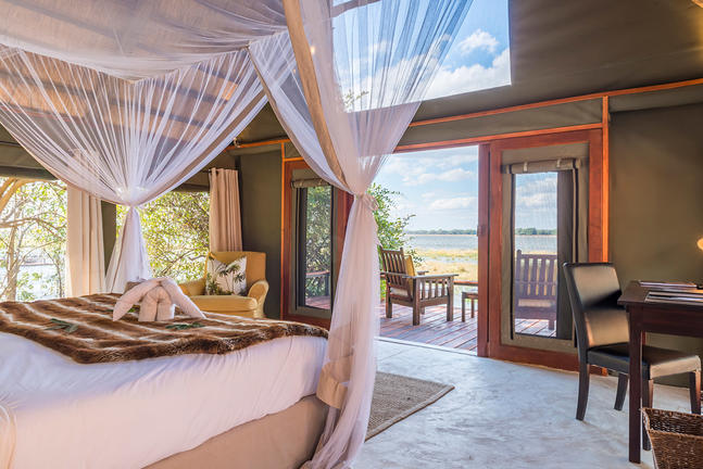 Room at Royal Zambezi Lodge