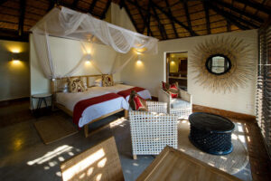 Mfuwe lodge bedroom