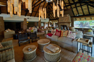 Mfuwe lodge common area