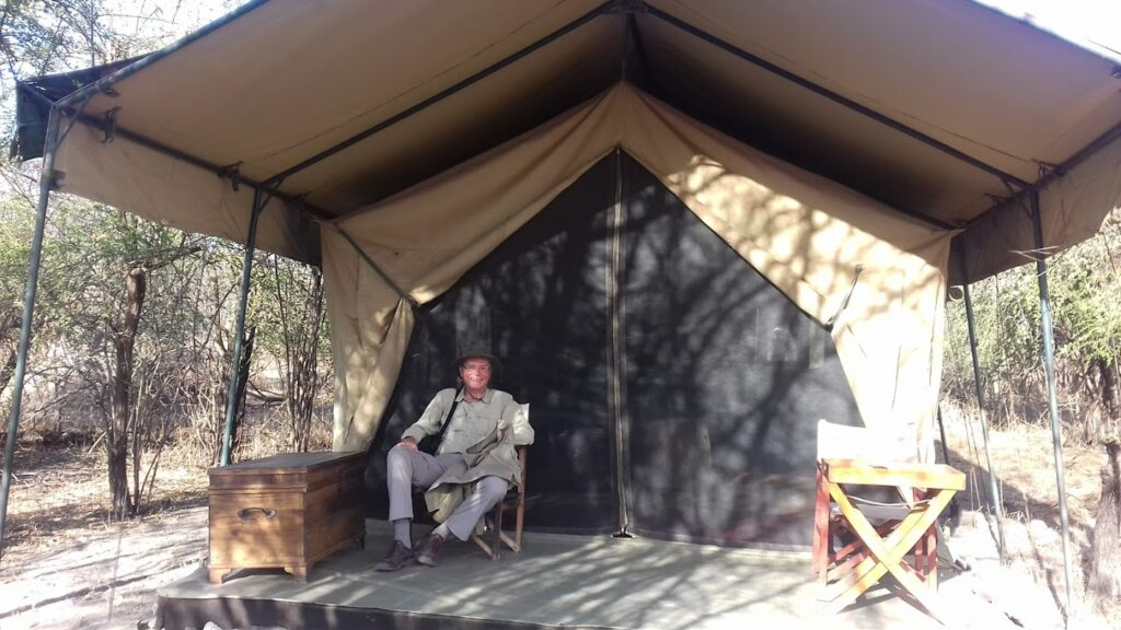 Tented camp in Tanzania